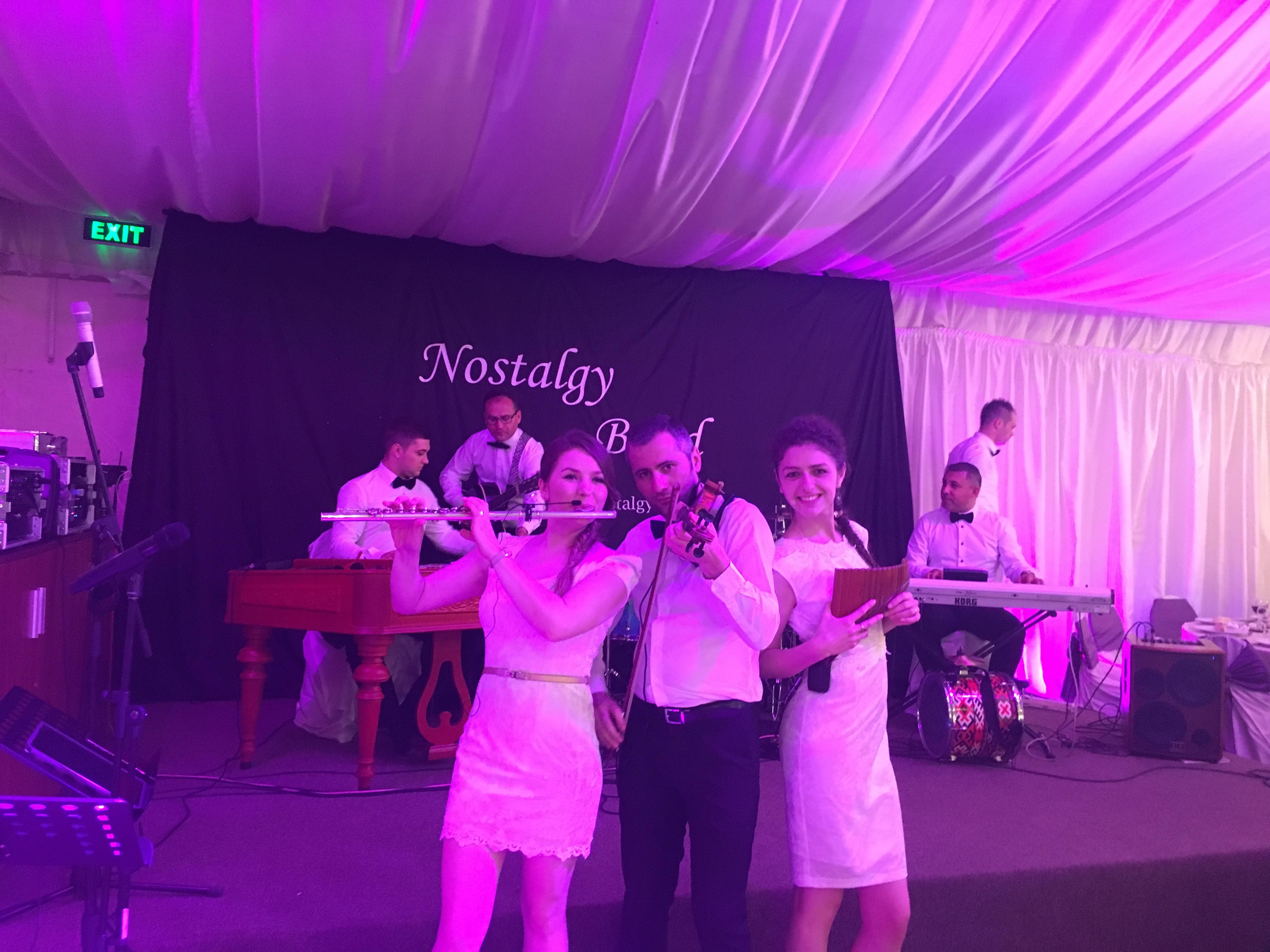 formatie nunta  Nostalgy Taraf&Band Godfather 2016 formatie nunta