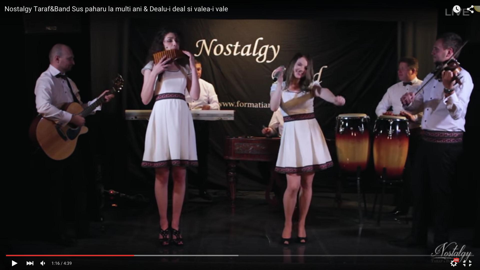 Formatie nunta  Nostalgy 2016