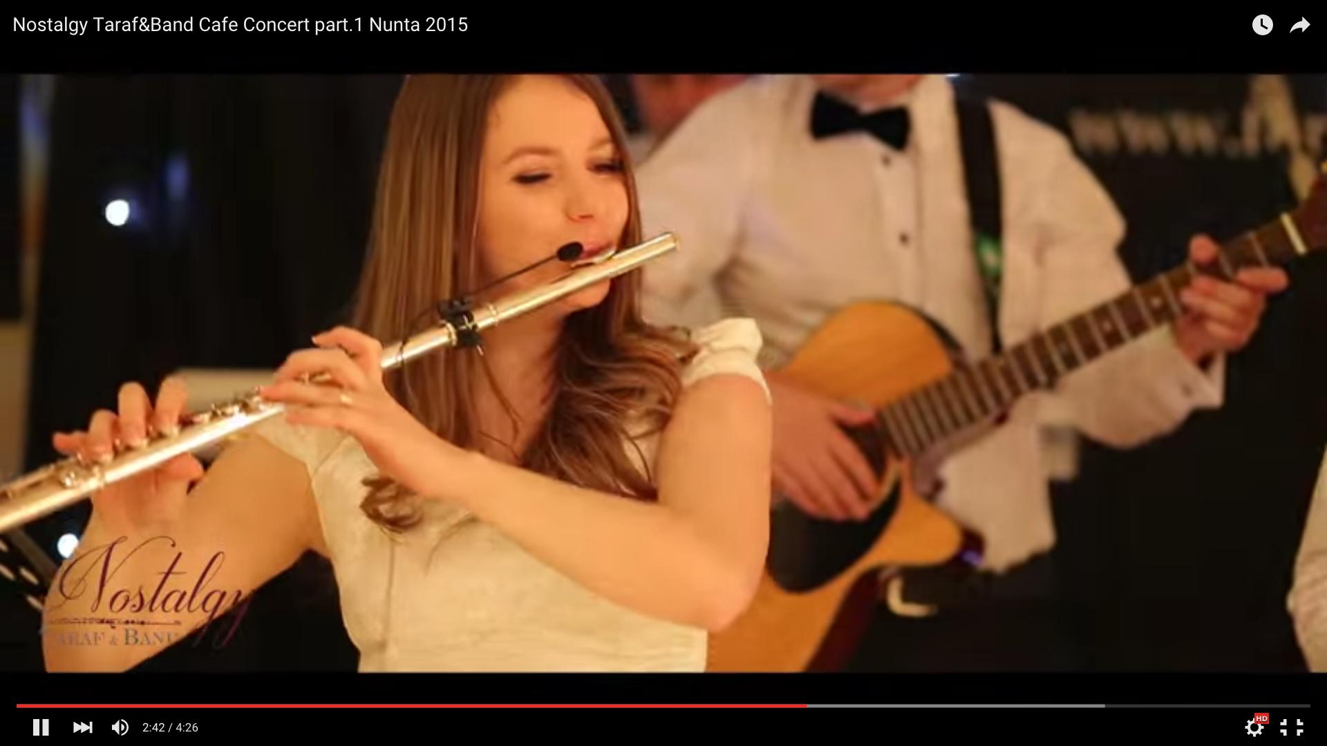 formatie nunta Nostalgy Taraf&Band Cafe Concert part.1 Nunta 2015