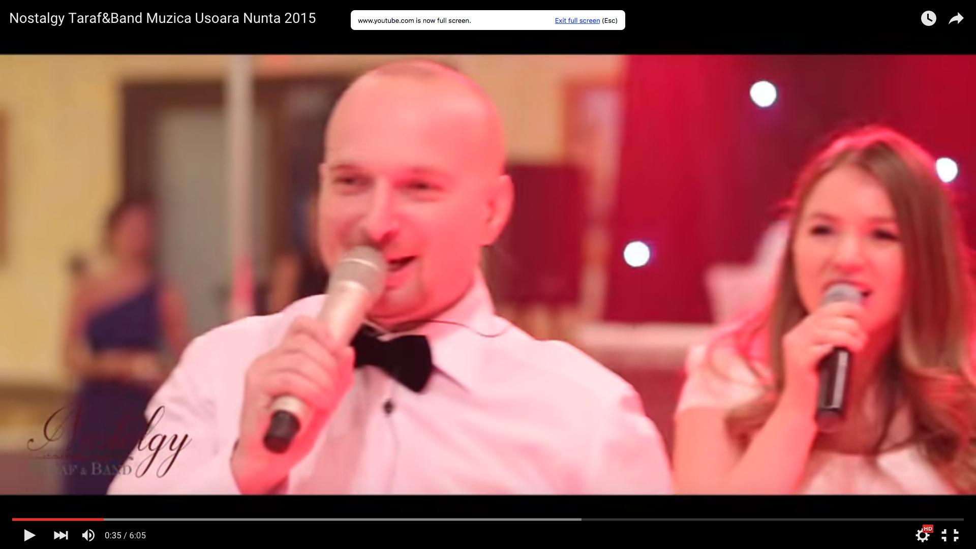formatie nunta Nostalgy Taraf&Band Muzica Usoara Nunta 2015